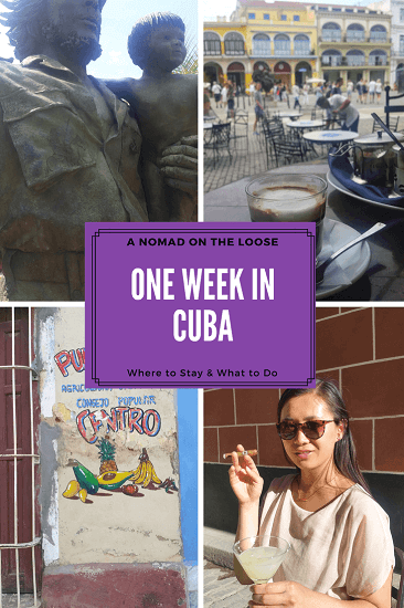 One week itinerary in Cuba