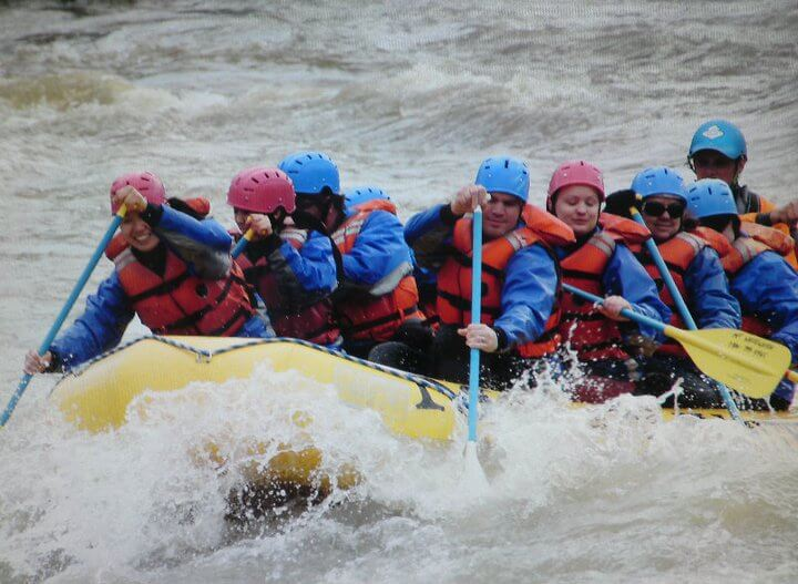 whitewater rafting Yellowstone River Montana