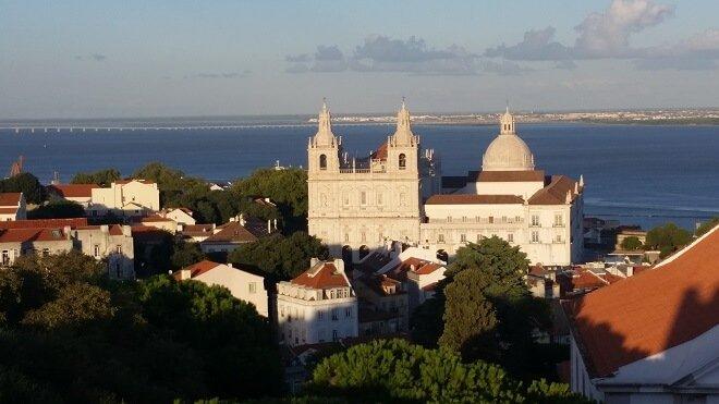 Lisbon church