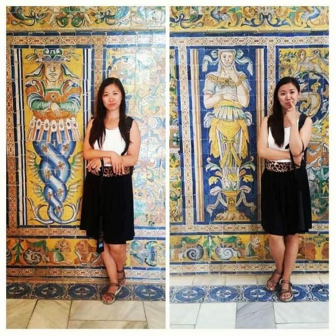 Seville Alcatraz tile art