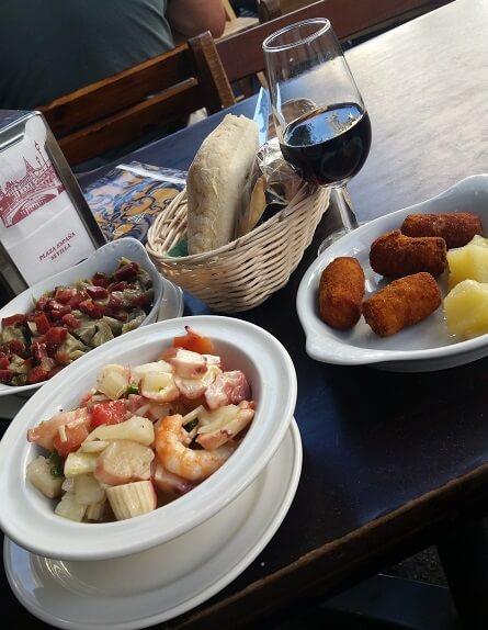 tapas Seville Spain