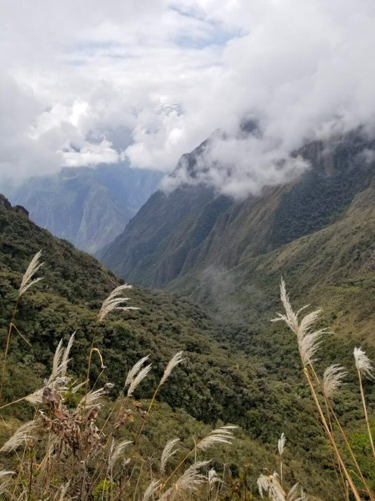 Inca Trail valley