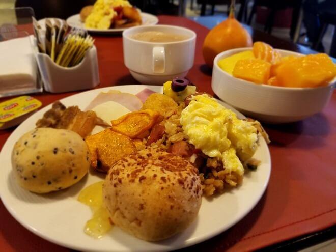 Peruvian breakfood Lima