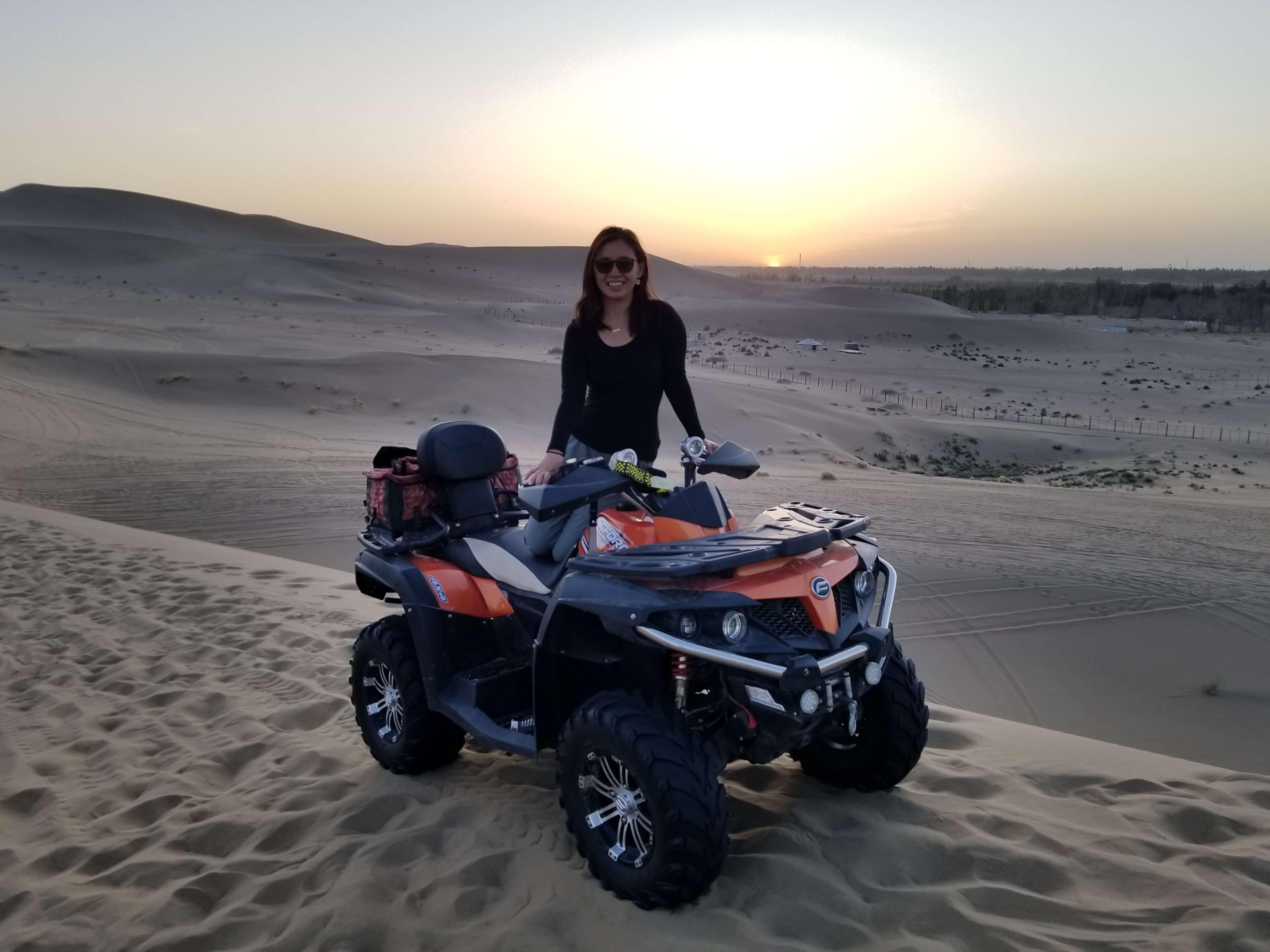 Mingsha Mountain ATV