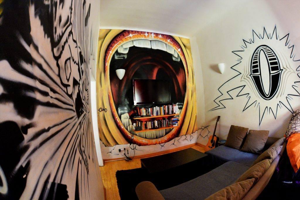 The MadHouse Prague hostel