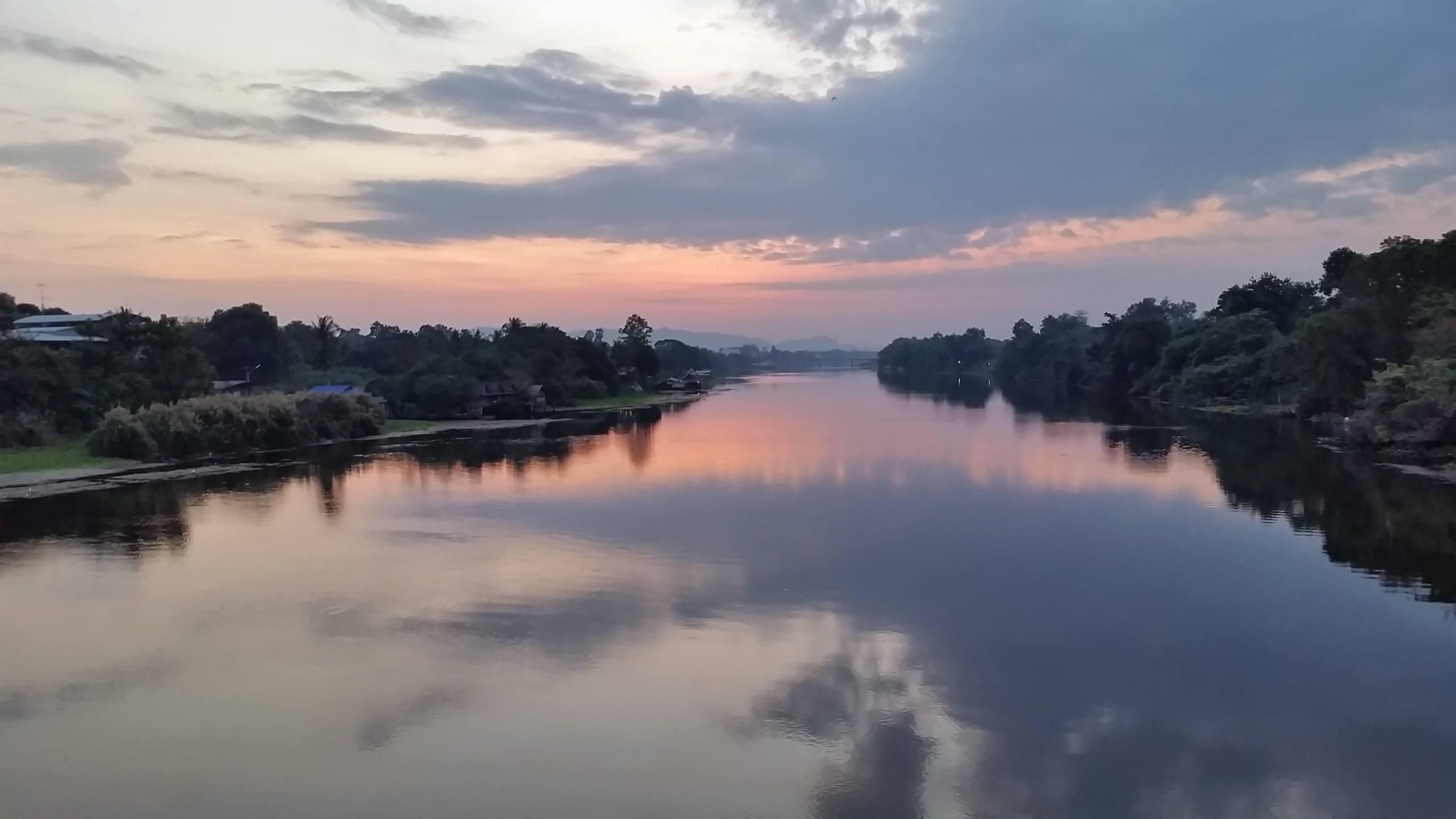 River Kwai sunrise
