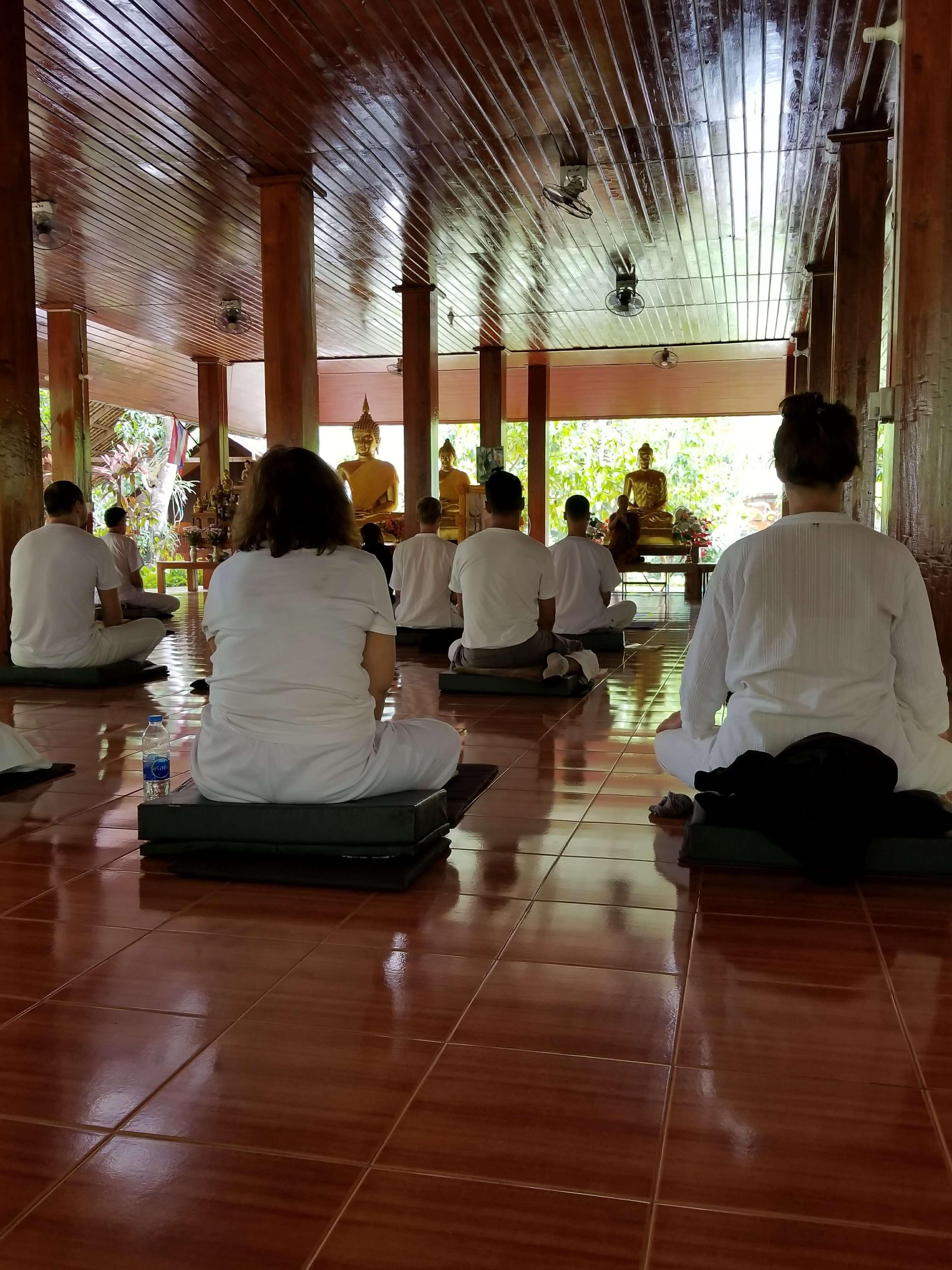 tam wua forest monastery sitting meditation