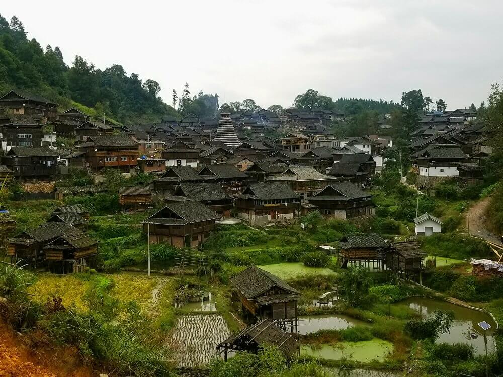 Dong drum tower and village