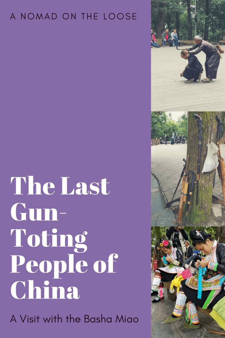 Basha Miao Village - the Last Gun-Toting People of China