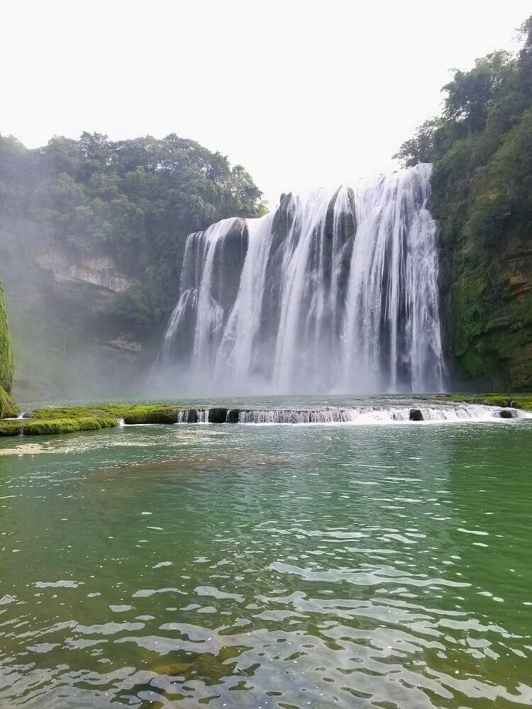 Huangguoshu Waterfall pool