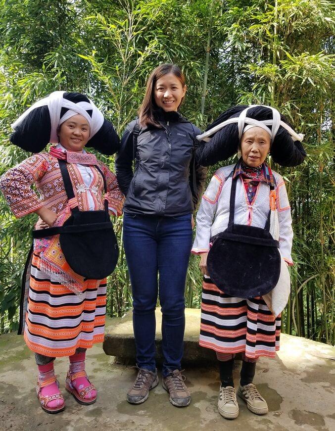 Longhorn Miao women