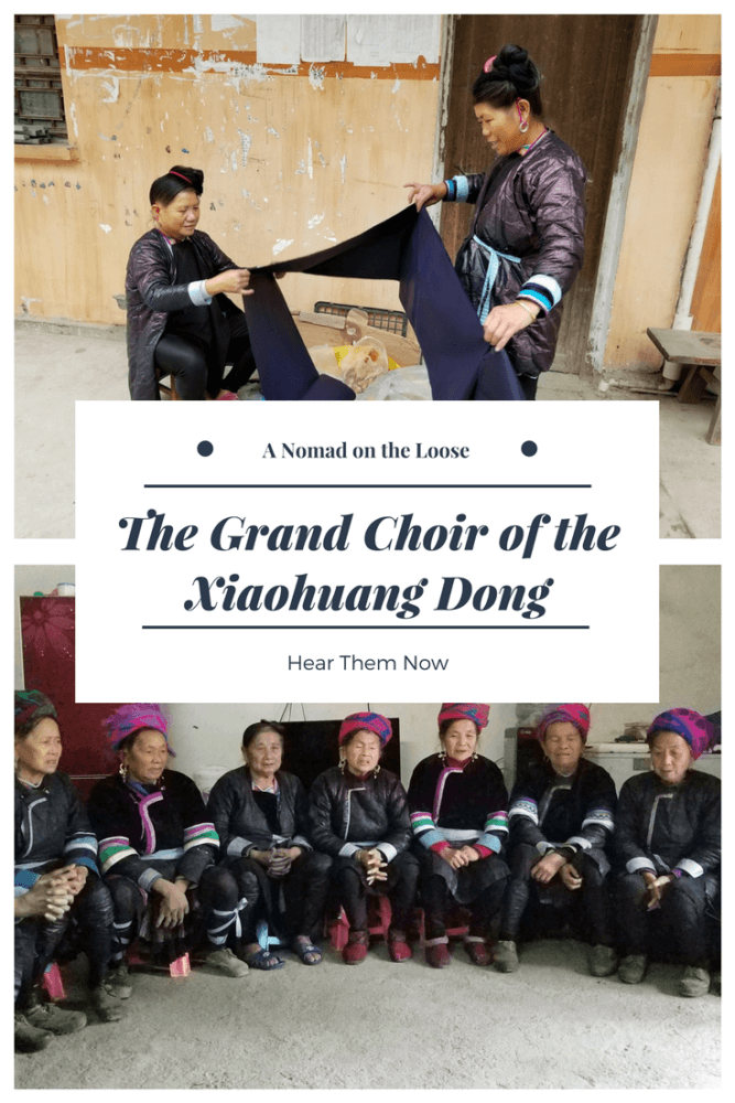 The Grand Choir of the Xiaohuang Dong