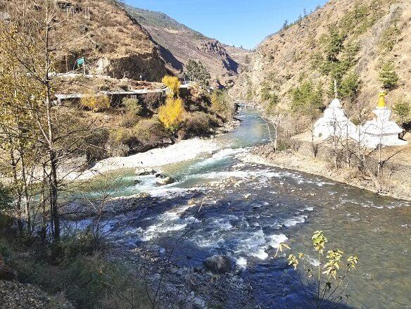 Bhutan river