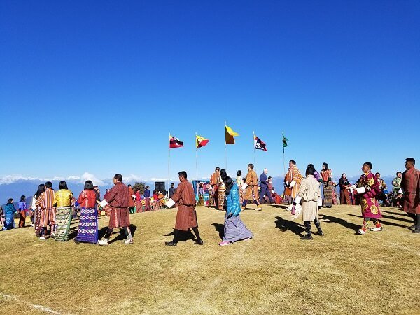 Dochula Druk Wangyel festival last dance