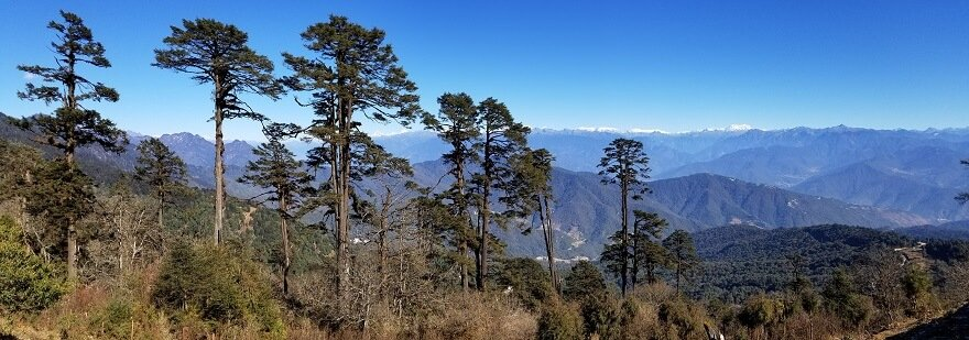 highest mountain Bhutan