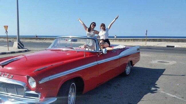 Classic car Chrysler Cuba