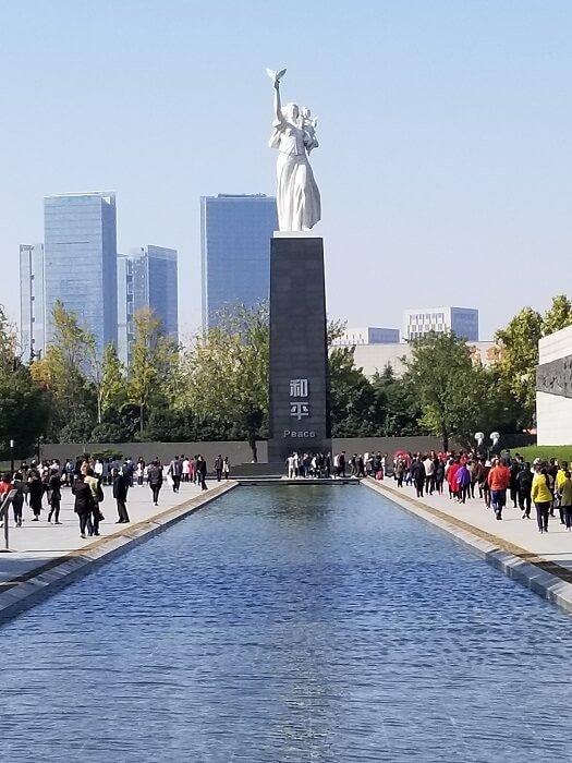 Nanjing Massacre Memorial peace