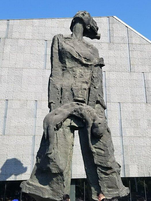 Nanjing Massacre Memorial statue