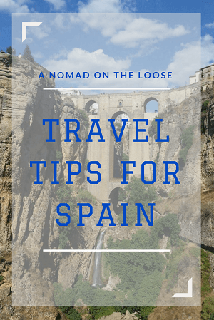 Spain travel tips