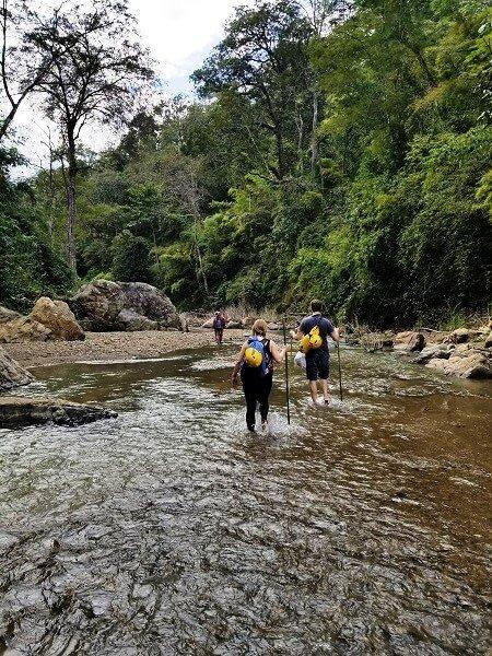 Soppong river