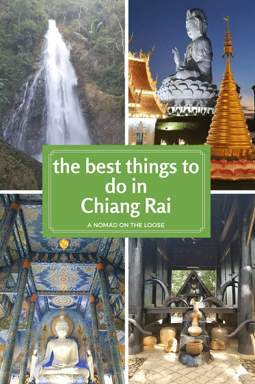The best things to do in Chiang Rai, Thailand. Temples, art installations, and the great outdoors.