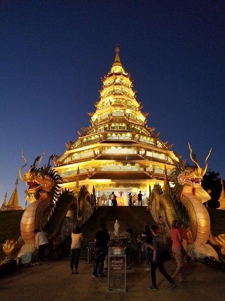 Wat Huai Pla Kung Chiang Rai