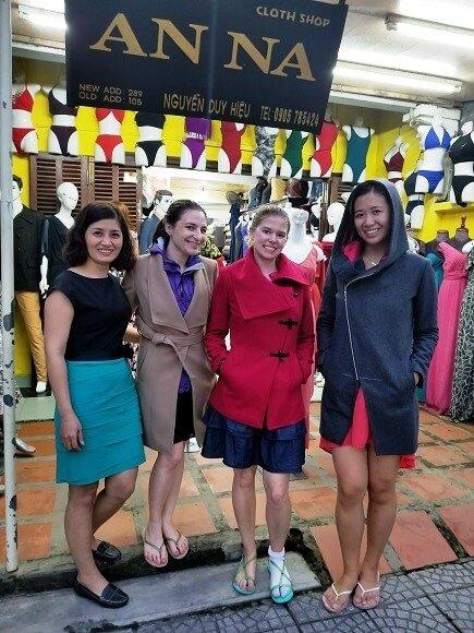 Anna best tailor in Hoi An Vietnam