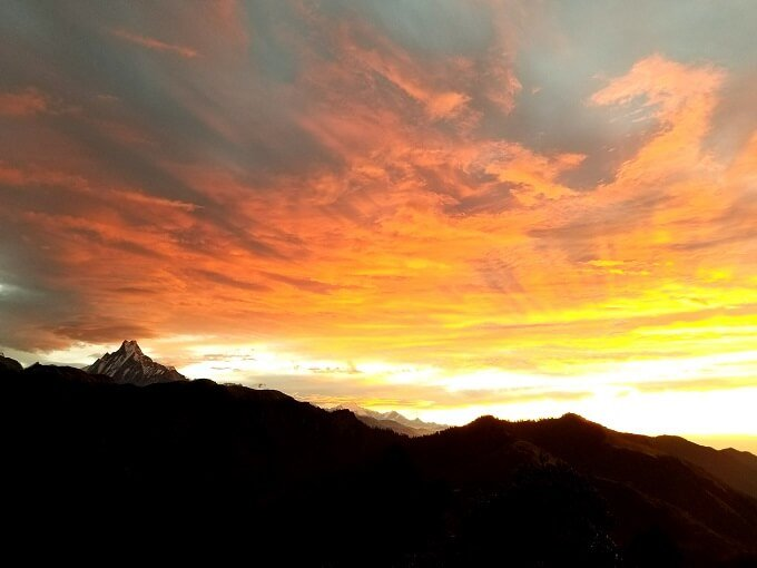 Annapurna Poon Hill sunrise