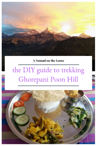 How to trek Ghorepani Poon Hill on your own: the DIY guide to the Annapurna