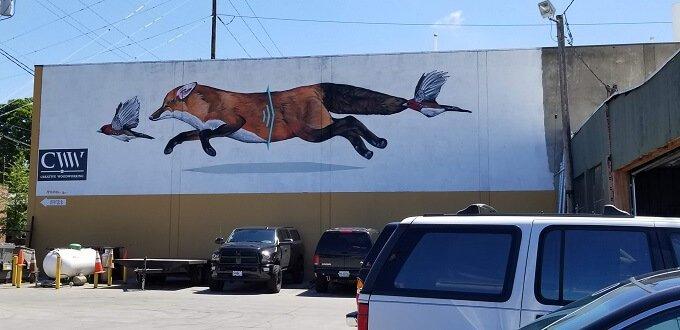 Apeseven Portland street art