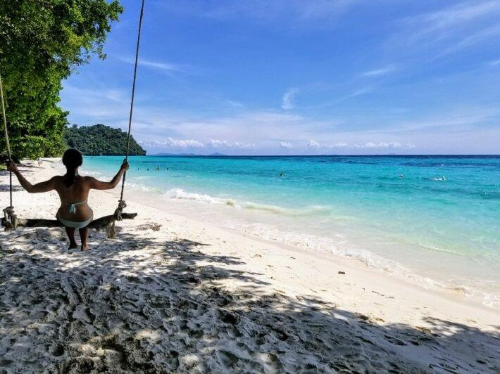 Koh Rok Krabi beaches