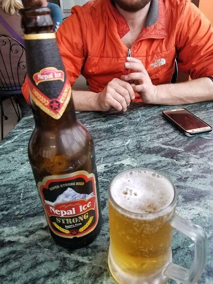 Nepal Ice beer