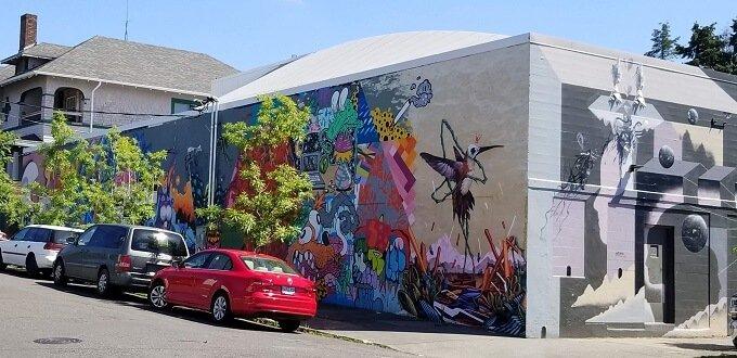 Portland murals