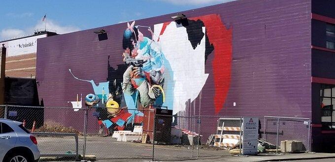Portland street art murals