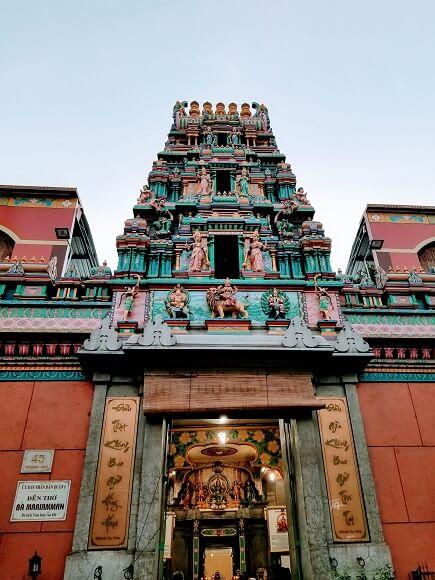 Mariamman Hindu Temple Ho Chi Minh City
