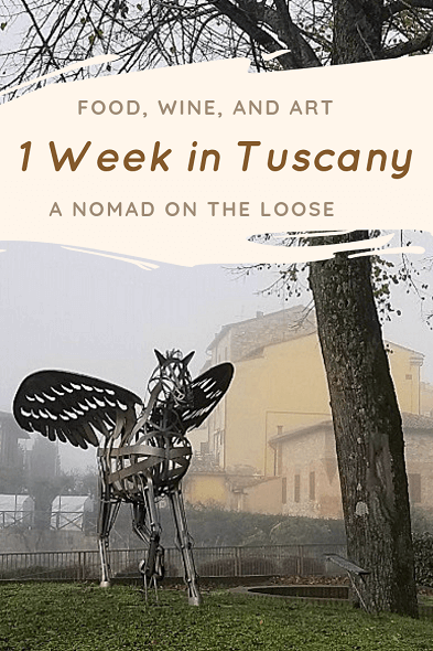 1 week in Tuscany itinerary