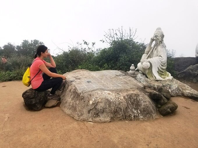 Dinh Ban Co Chessboard Peak