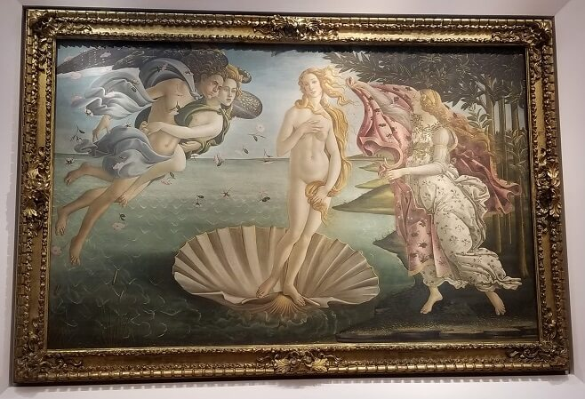 Uffizi Botticelli The Birth of Venus