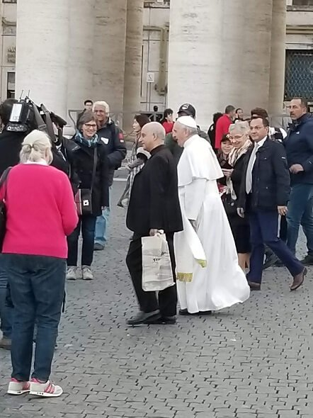 Pope Francis St. Peter's Square