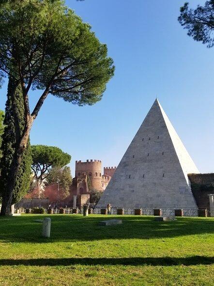 Pyramid of Cestius Rome