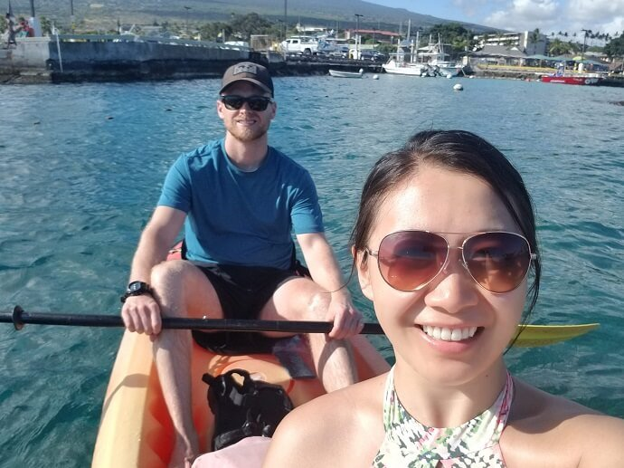 Kailua Bay kayaking