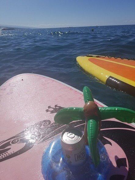 Kailua Bay paddleboarding