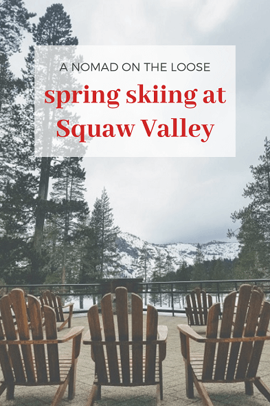spring skiing Squaw Valley