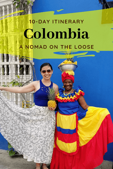 10-day Colombia itinerary