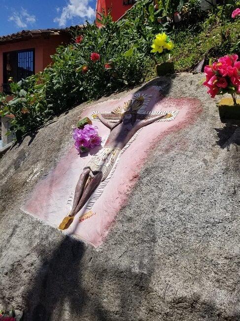 Christ zocalo Guatape
