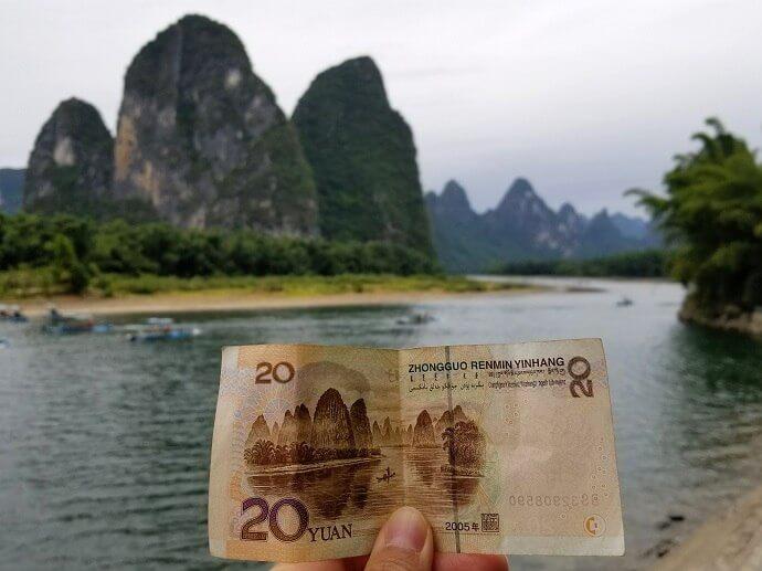 Li River 20 yuan