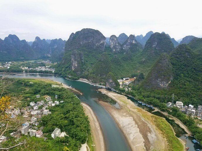 Li River Laozhai Mountain