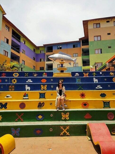 Plazoleta de Los Zócalos Guatape