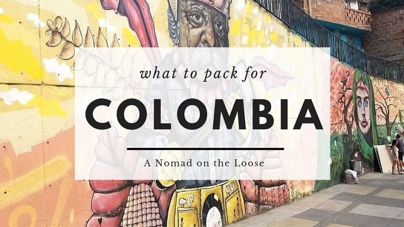 What to pack for Colombia title card