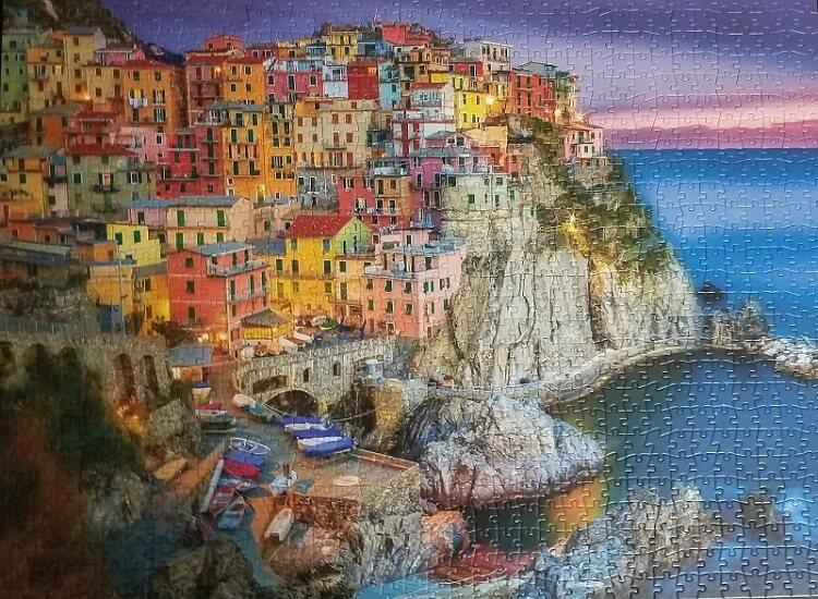 puzzle of manarola cinque terre